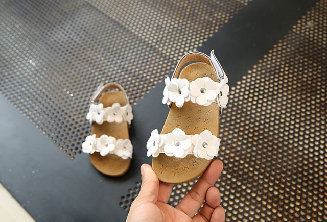 Crib Shoes Mother & Kids 2018 Cute Sweet New Fashion Toddler Baby Girl Crib Shoes Summer Kids Beach Sandals Walking Shoes