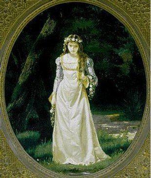 T. E. , Ophelia, 1890.