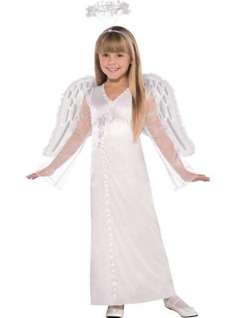 10 girls heavenly angel costume party city - Pageant Girl Halloween Costume