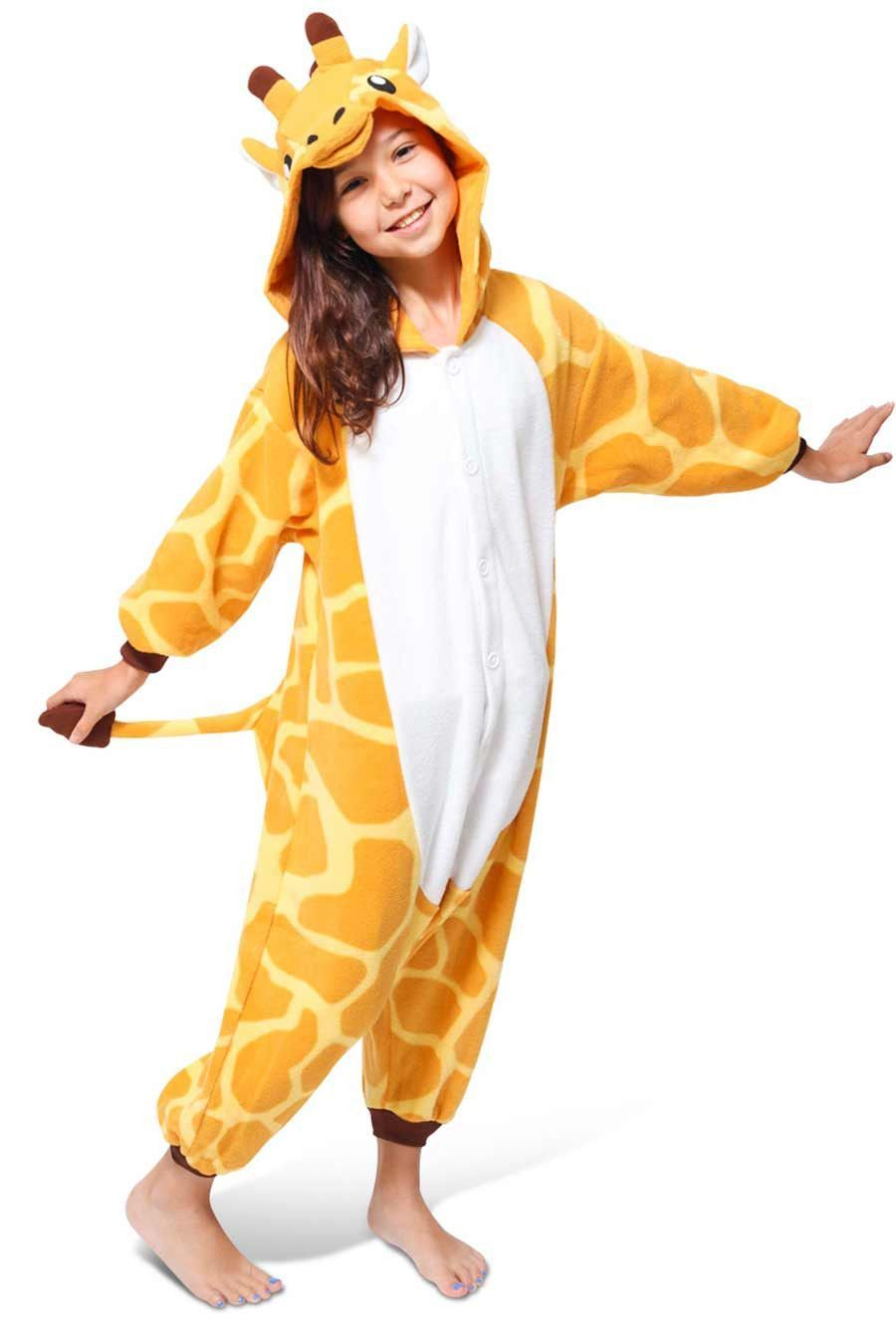 3a7c7cd00c Kids Giraffe Kigurumi Onesie