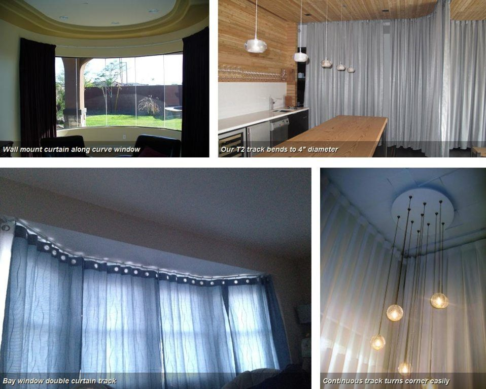 Pin By Fortune Campbell On Bay Window Treatment Curtains