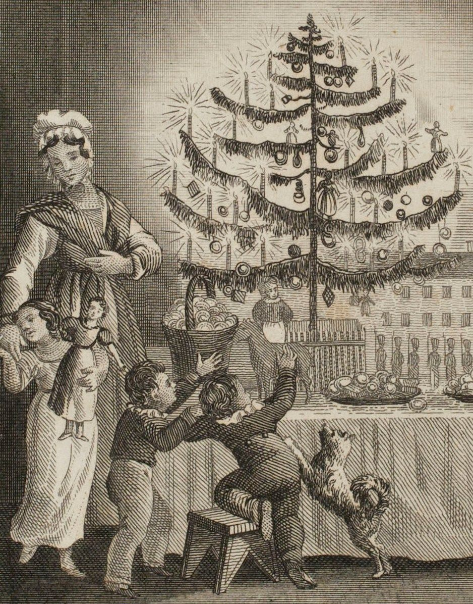 1860s christmas tree google search weihnachten. Black Bedroom Furniture Sets. Home Design Ideas