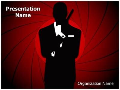 james bond powerpoint template is one of the best powerpoint, Modern powerpoint