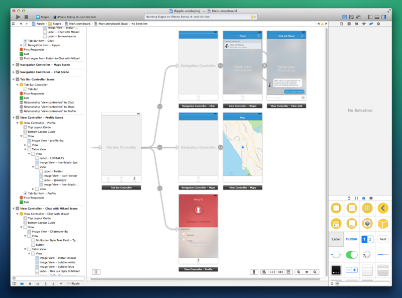 Learning Xcode 5 As a Designer Design, Ios app
