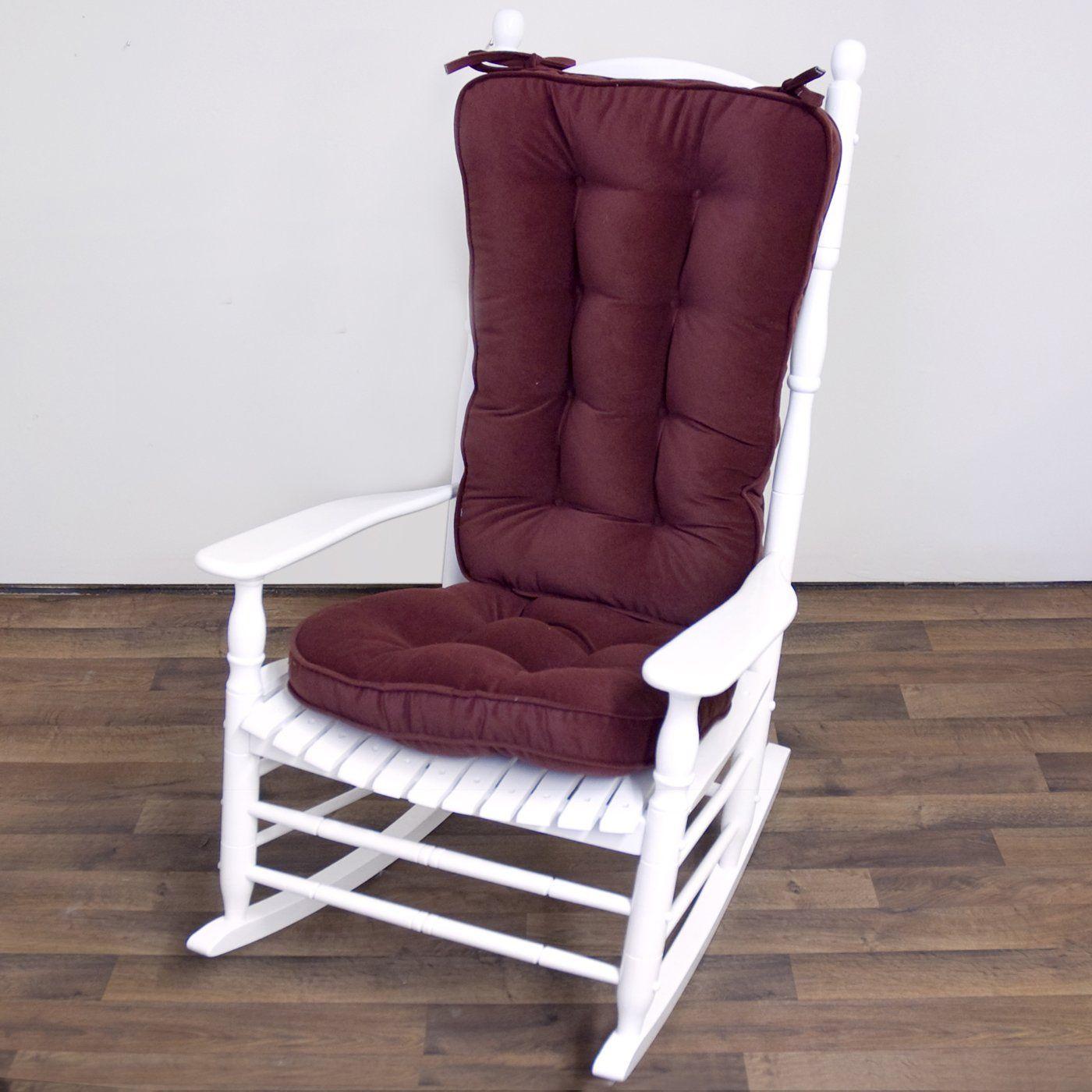 Rocking Chair Pad Set Schaukelstuhlkissen Stuhlkissen Und