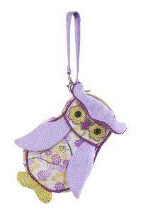 Amazon.com: Douglas Blossom Owl Sillo-ette Wristlet Purse: Toys & Games