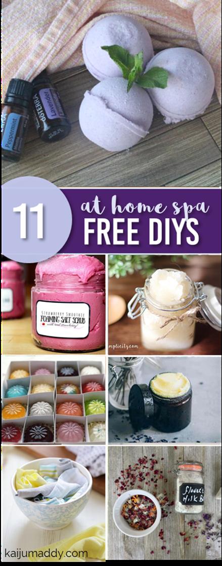 11 Free DIY Spa at Home Recipes  kaijumaddy 11 Free DIY Spa at Home Recipes  kaijumaddy Diy Abschnitt