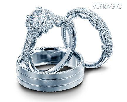 Designer Engagement Rings And Wedding Rings By Verragio Rings Mens Wedding Bands Wedding Rings Engagement Rings