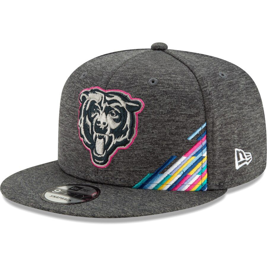 good service wholesale dealer official Men's Chicago Bears New Era Heather Gray 2019 NFL Crucial Catch ...