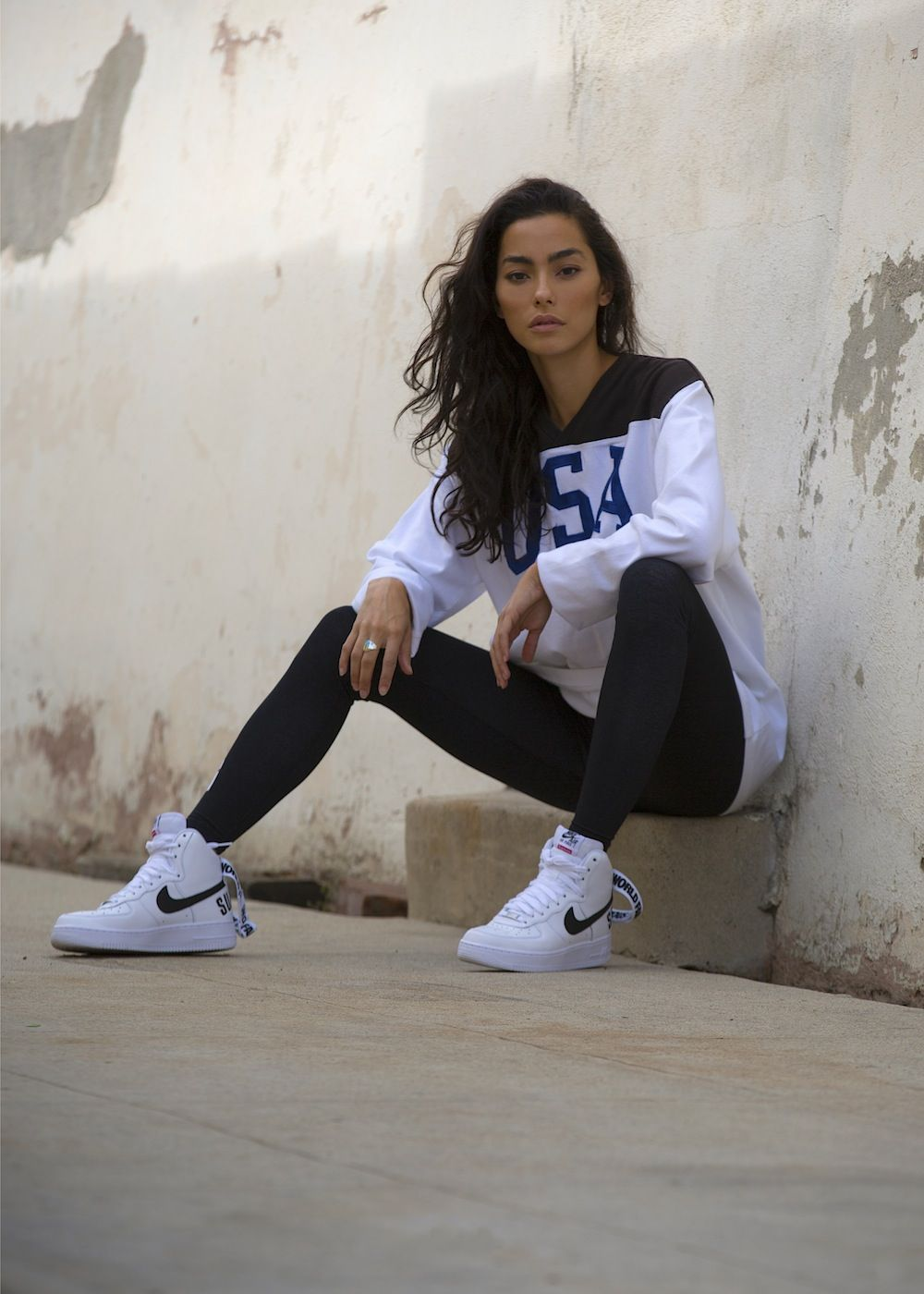 Adrianne Ho Womens casual outfits, Style, High tops outfit