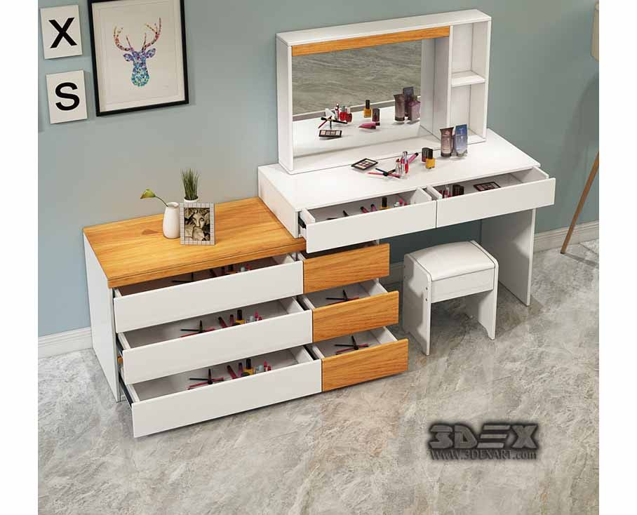 Best 50 Latest Small Dressing Table Designs For Bedroom 400 x 300
