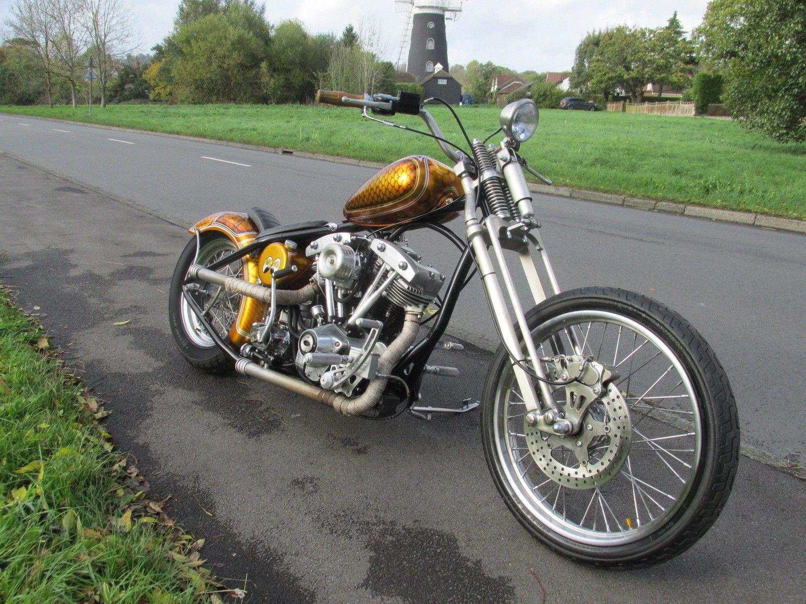 Ebay Harley Davidson Shovelhead Sickboyz Custom Chopper 1340 Flh Bobber Mot Harleydavidson Ukdeals Rssd Harley Davidson Harley Davidson Bikes Shovelhead