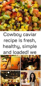 Cowboy caviar recipe is fresh, healthy, simple and loaded! we make this salsa al... #cowboycaviar