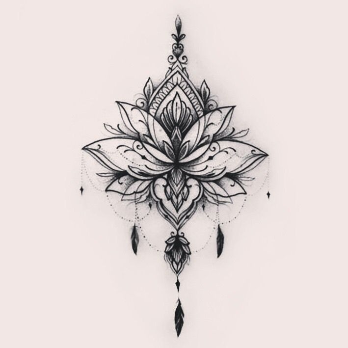 Amazon Com Flower And Butterfly Tattoos  Amazon Com Flower And Butterfly Tattoos Lady Up Sheets Mixed Style Body Art Temporary Tattoos Paper Flowers Roses Butterflies And Multi Colored Waterproof Tat is part of Mandala tattoo -