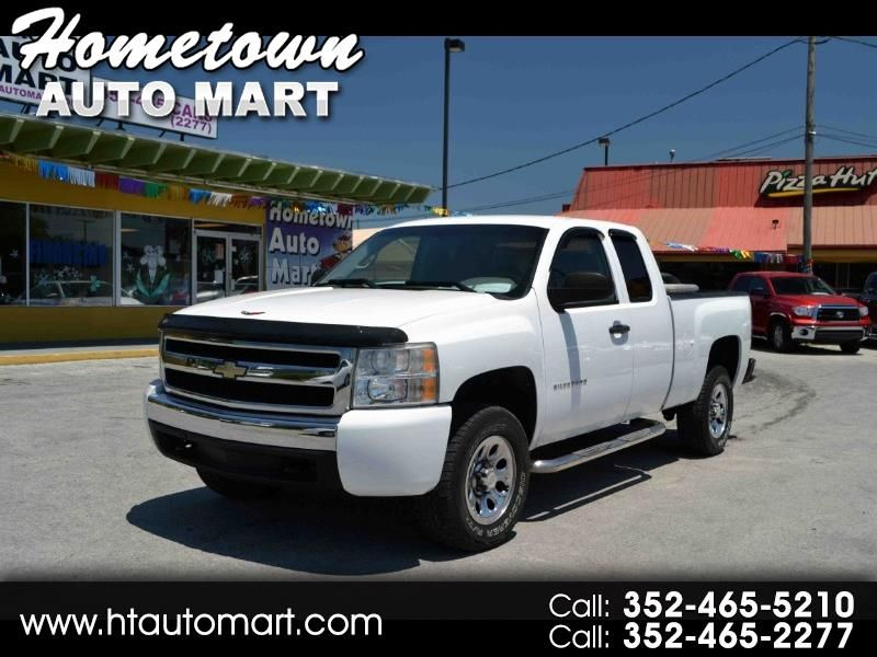 Used 2010 Chevrolet Silverado 1500 Work Truck Extended Cab 4wd For