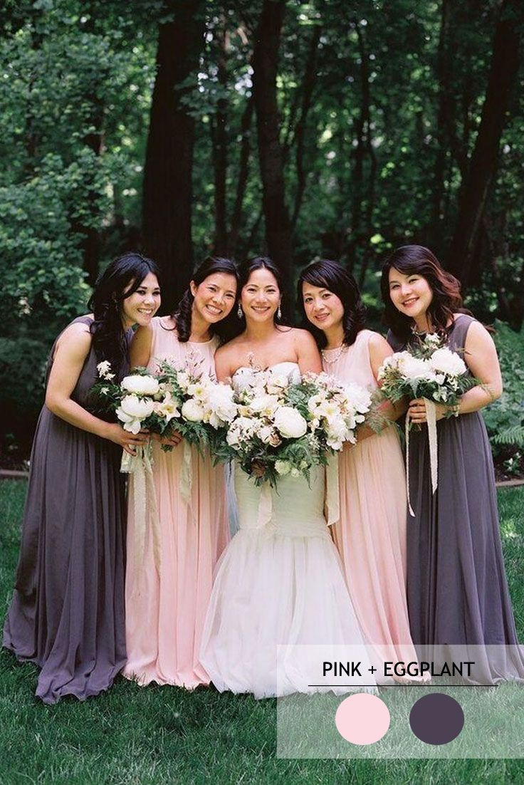 Mix and match bridesmaid dresses by colours pink a farewell to mix and match bridesmaid dresses by colours httpfabmood ombrellifo Choice Image