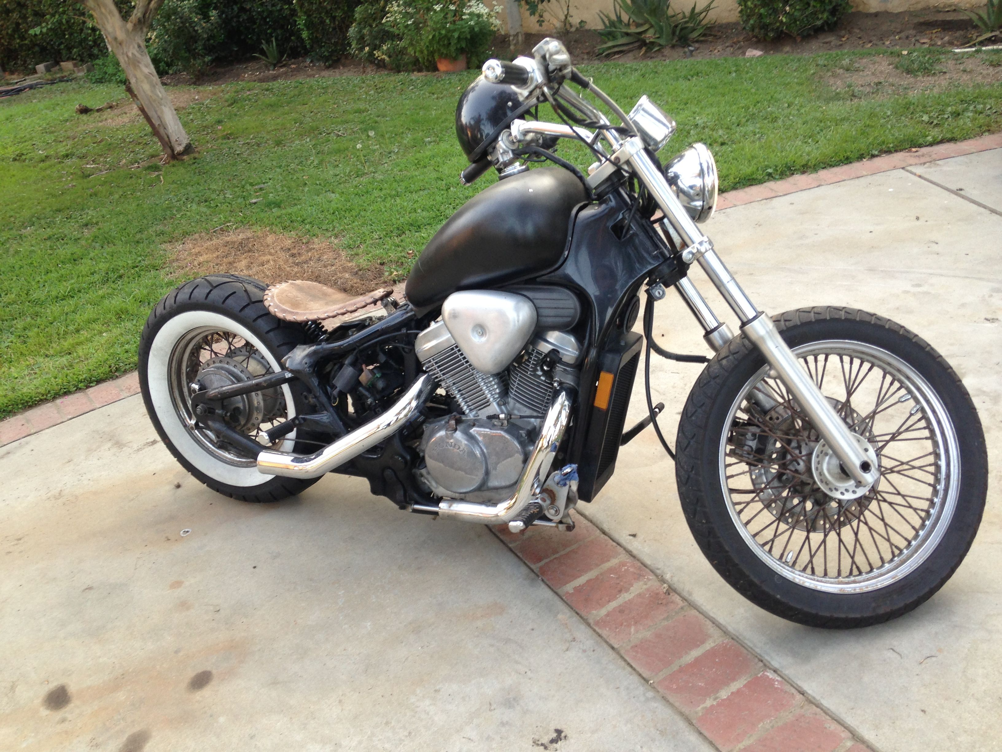 Honda Shadow Vlx600 Bobber Hardtail Whitewall Cafe Racers And