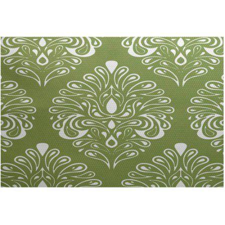 Simply Daisy, Veranda, Geometric Print Indoor/Outdoor Rug - Walmart.com