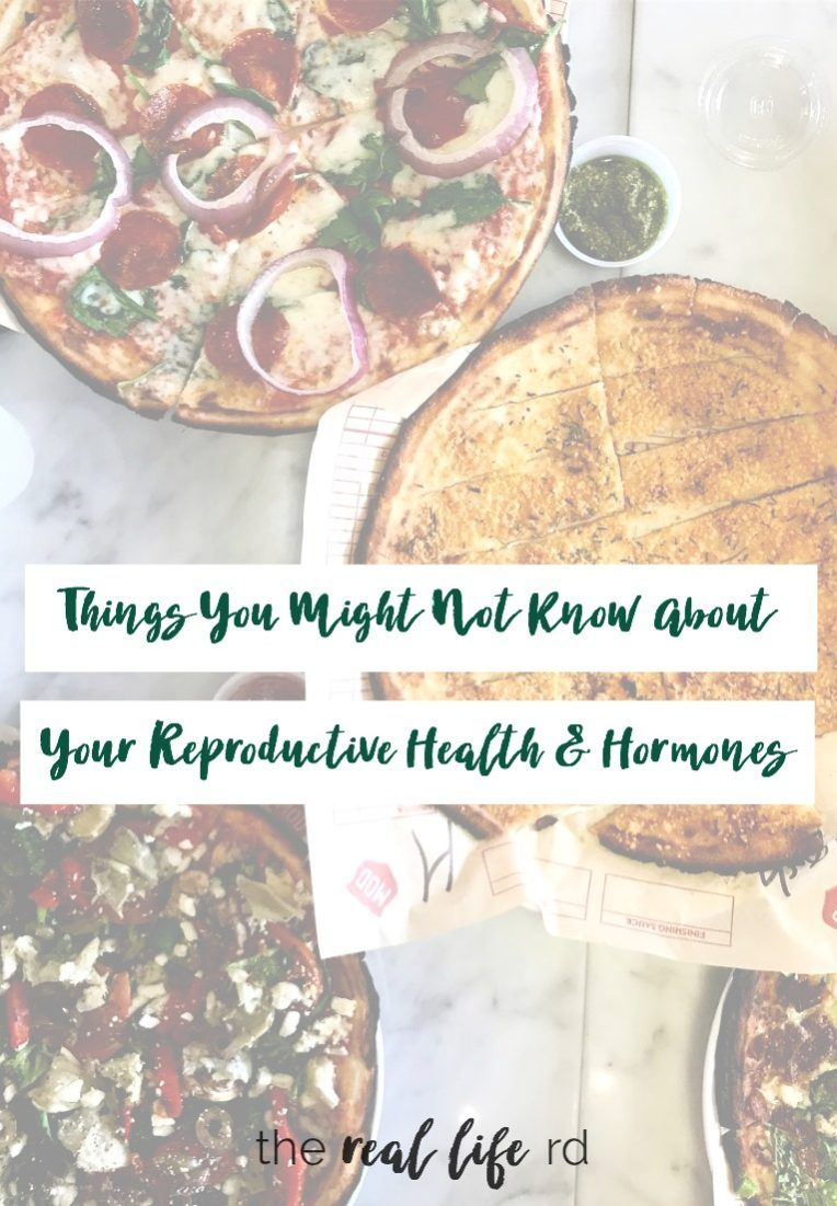 Things You Might Not Know About Your Period and Hormones | The Real Life RD