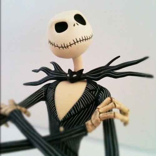 """""""A Nightmare Before Christmas"""" Jack Skellington Action Figure 