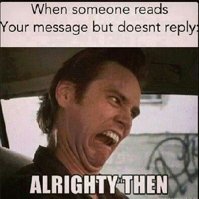 when someone doesn t reply to your text