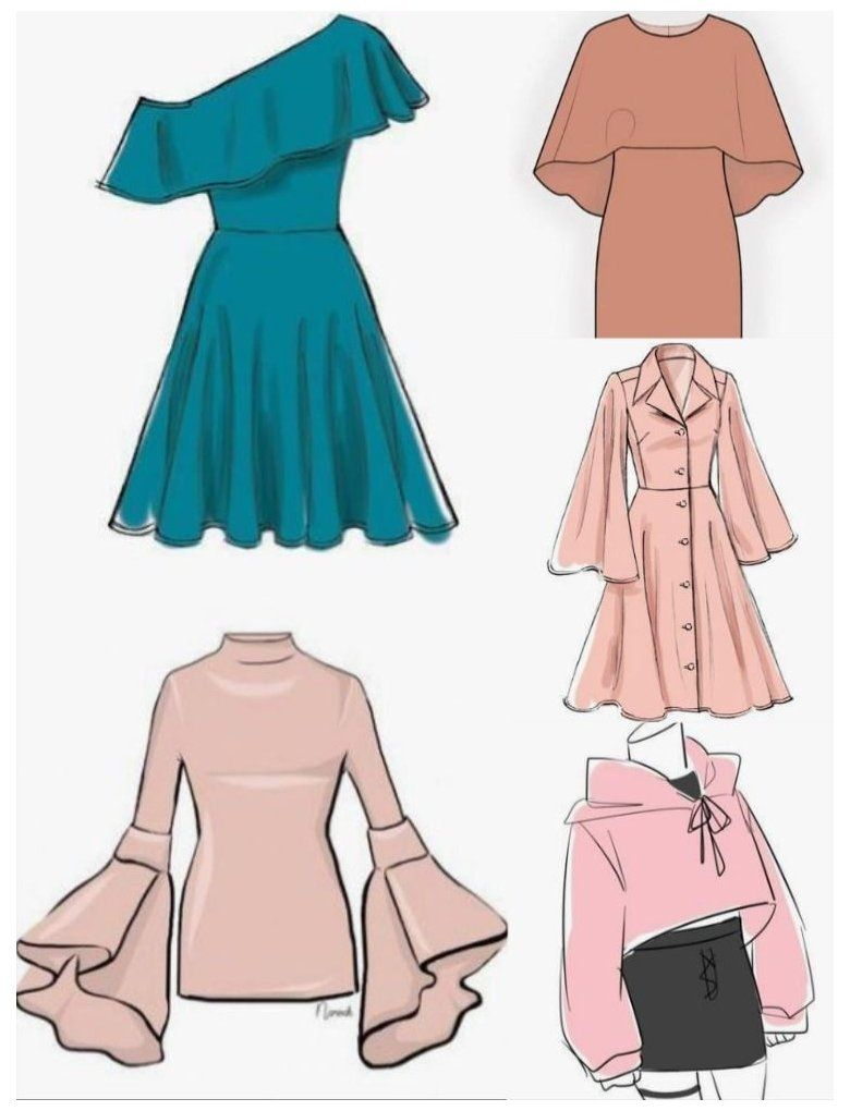 how to draw clothes fashion design outfit