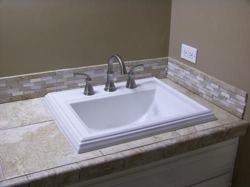 Kohler Memoirs Drop In Vitreous China Bathroom Sink In White With Overflow Drain K 2241 1 0 The Home Depot In 2021 Drop In Bathroom Sinks Kohler Memoirs Bathroom Sink Kohler drop in bathroom sinks