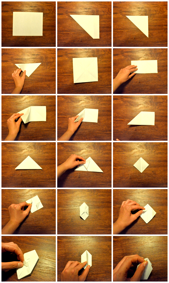 How to make a paper cube/balloon! Super easy and loads of fun to play with afterwards!!