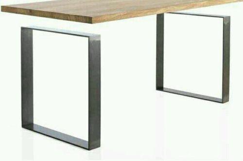 Sgabello Da Bar Industriale Nero Jim : 2x piedi per tavolo gambe tavolo metallo finish nero bianco silver