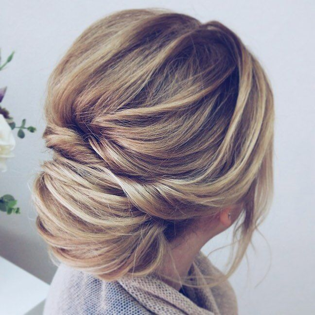 75 Drop-Dead Gorgeous Wedding Hairstyles For A Romantic Wedding - wedding updo hairstyle iddeas ,Textured messy updo wedding hairstyles,updo hairstyles,messy updos #weddinghair #wedding #hairstyles #updowedding #weddinghairstyles