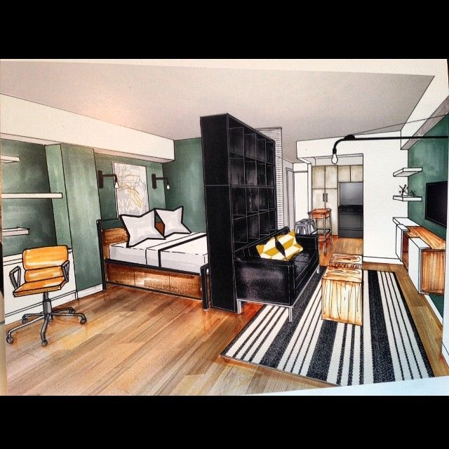 Zbox Of The Week 350 Sq Ft Studio Nyc Smallspaces In