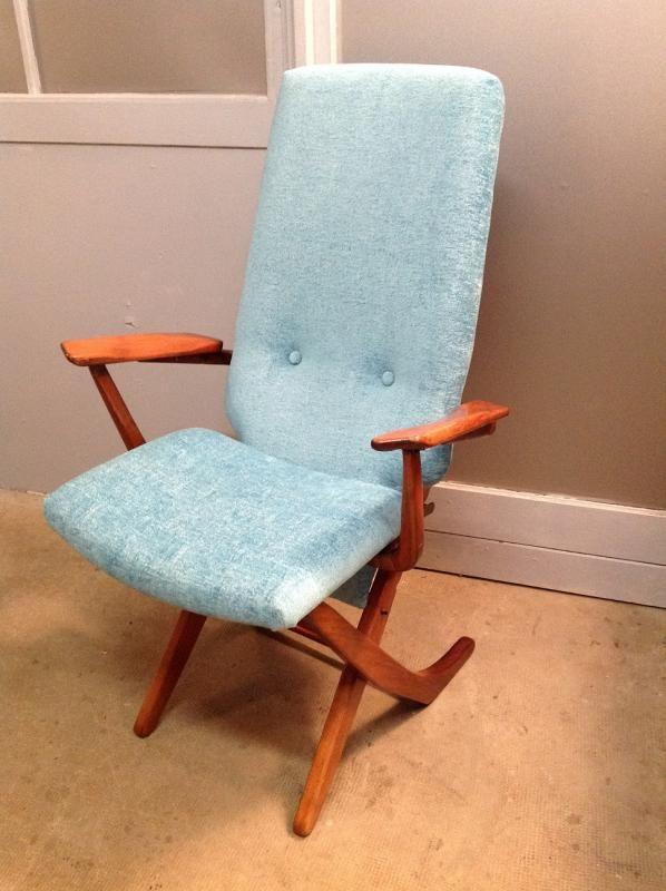 fauteuil vintage style scandinave atelier bacchetta - Siege Scandinave
