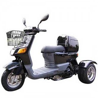 Trike Scooters 50cc Automatic Trike Gas Motor Scooters