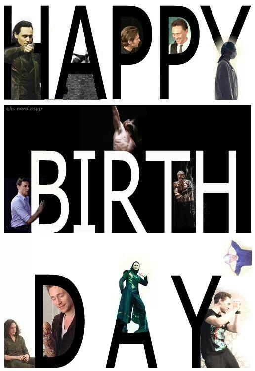 Tom Hiddleston ~ Happy Birthday