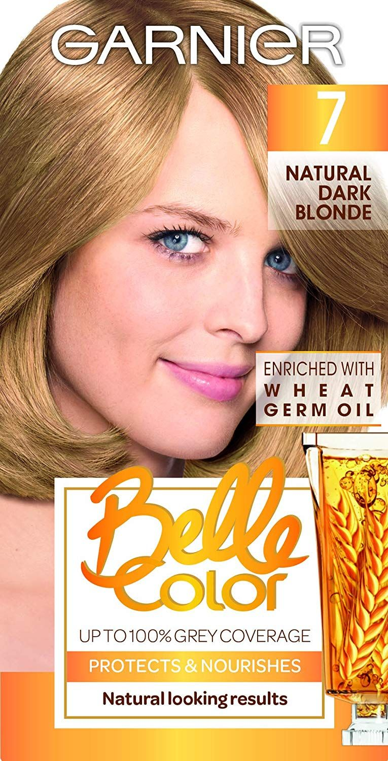 Garnier Belle Color 7 Natural Dark Blonde Permanent Hair Dye You Can Find Out More Details At Th Natural Dark Blonde Permanent Hair Dye Garnier Belle Color