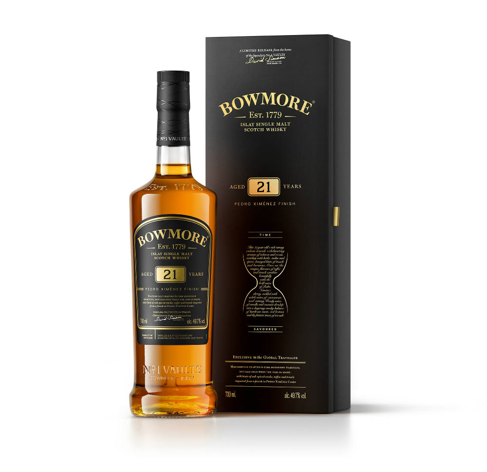 Bowmore Shows Distillery Credentials With Limited Pedro Ximenez Expression Travel Retail Business Distillery Whisky Collection Whisky