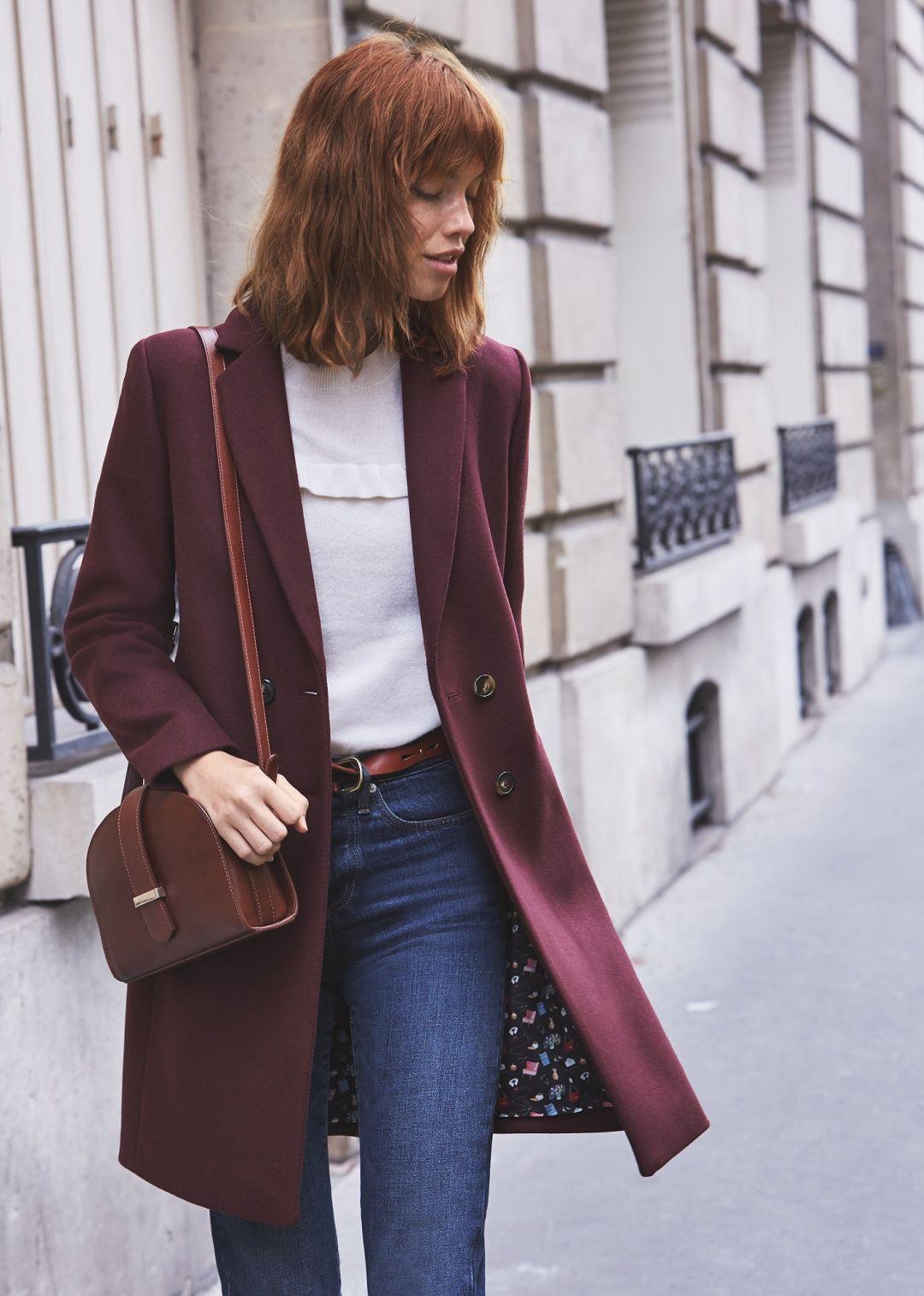 Sézane - Johnson coat - Sézane x Le Bon Marché Rive Gauche