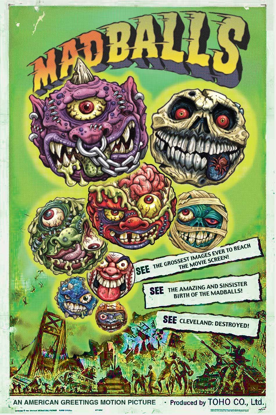 Madballs Poster Background Jpg Image Cool Monsters Retro Toys Monster Art