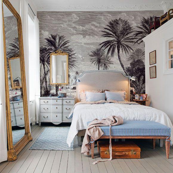 Pin by cecilette on papiers peints in 2019 deco chambre d co chambre exotique id e d co chambre - Deco chambre exotique ...