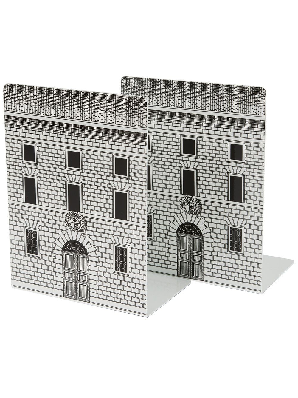 Fornasetti architectural bookends :: #Livres#books