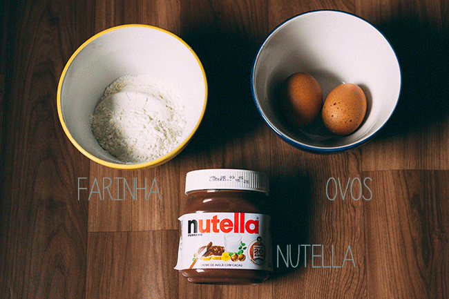 Receita: Brownie de Nutella!