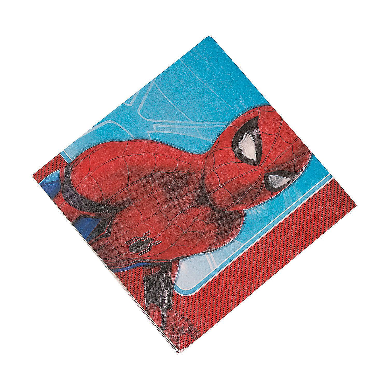 Spider-Man™+Homecoming+Luncheon+Napkins+-+OrientalTrading.com