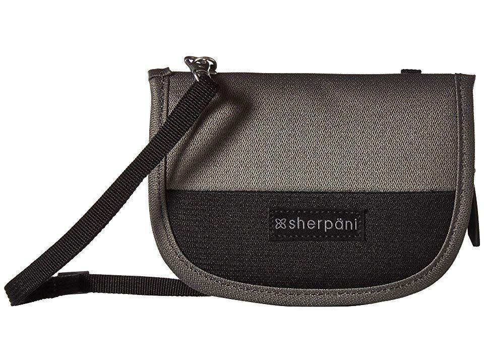 New Sherpani Zoe Raven Crossbody Bag in Black