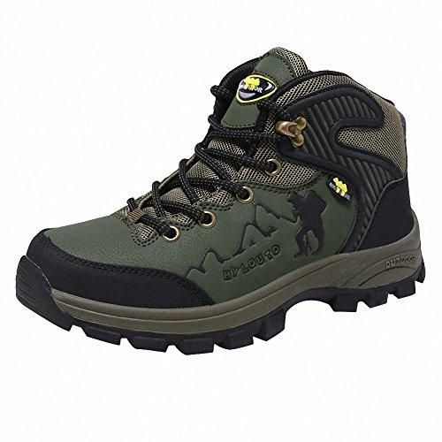 Ben Sports verde Zapatillas de senderismo Botas de senderismo Correr en montaña de Hombre de Mujer lvLC1Cj