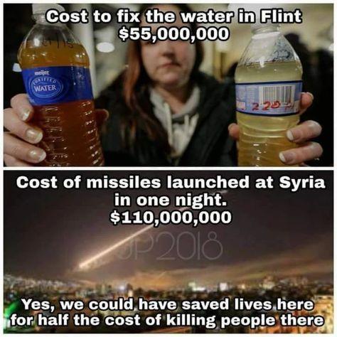 Priorities! #nomorewar