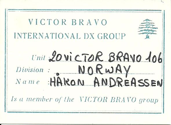The certificate in one of the other clubs   VB Lebanon
