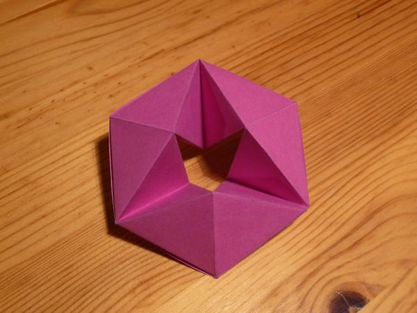 Origami Hexaflexagon | Hexaflexagons | Pinterest | Origami, Math