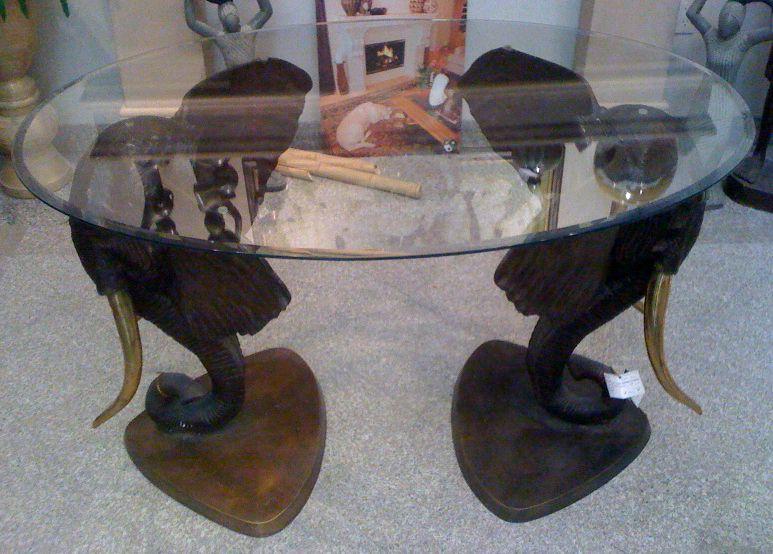 elephant table  elephant home decor elephant table