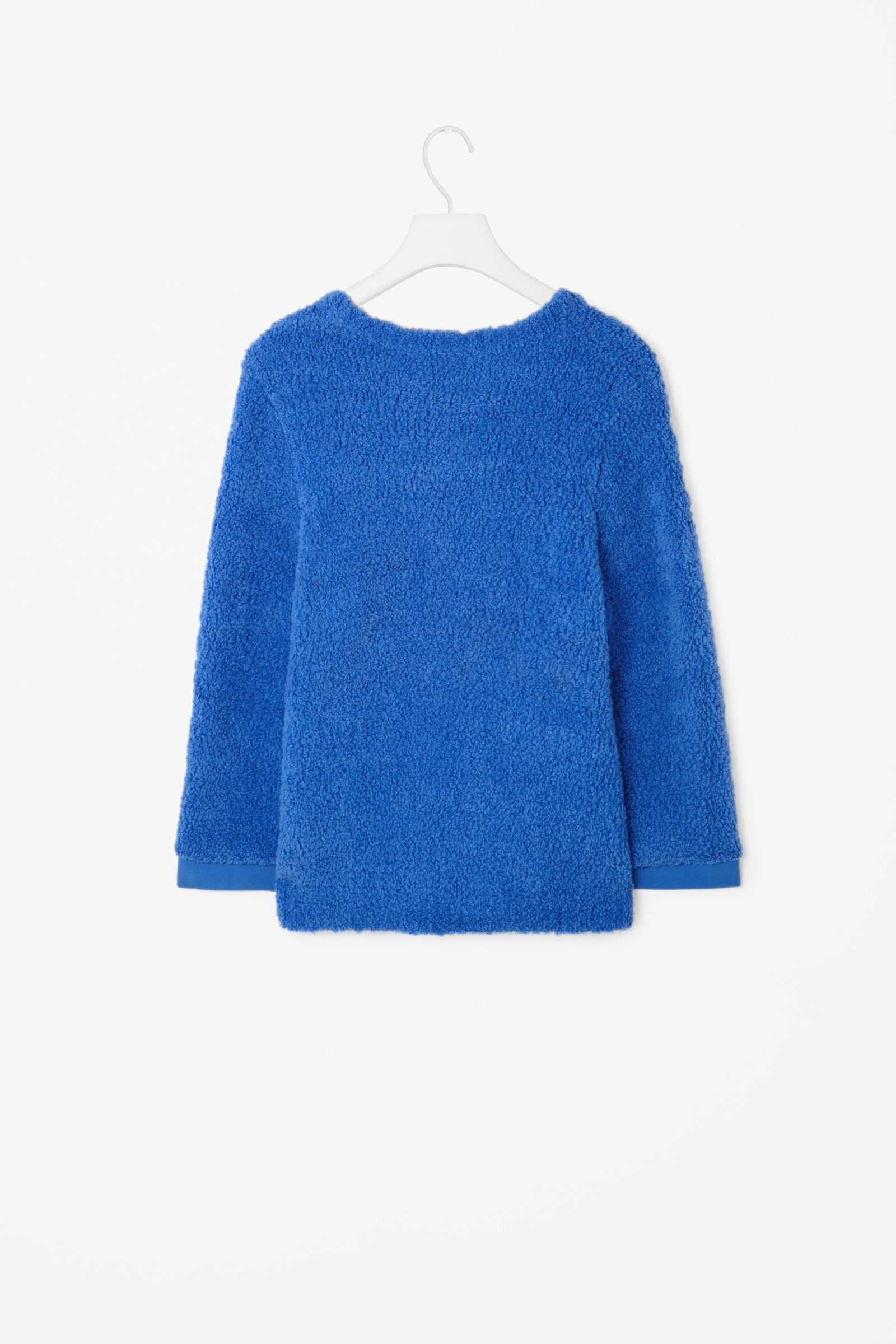 Raised stitch jumper