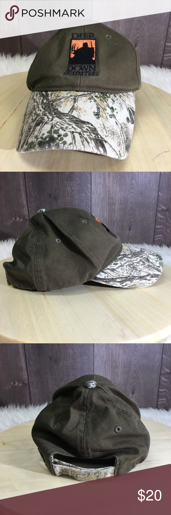 46a626856837f Deer Down Outfitters Game Guard Cap Camp Deer Down Outfitters Game Guard Cap  Adjustable Camo Accessories Hats